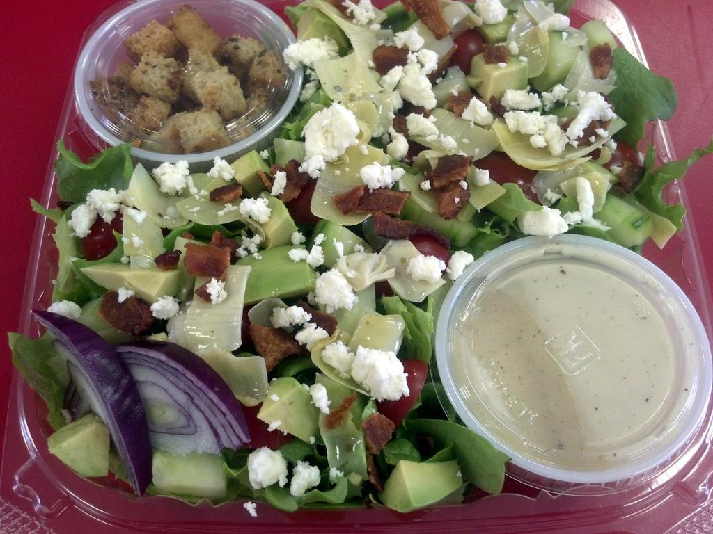 Salads - Chunky Avocado with Artichokes (LARGE)