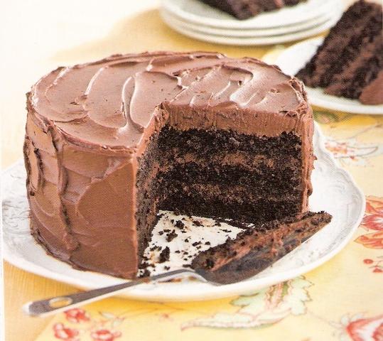 Tizzie S Dark Chocolate Cake